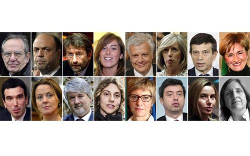 La squadra di Renzi, 16 ministri metà donne